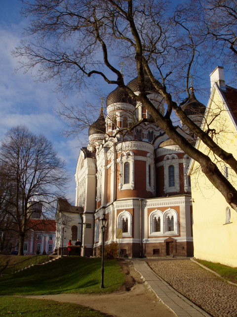 Russian Cathedral in Tallinn