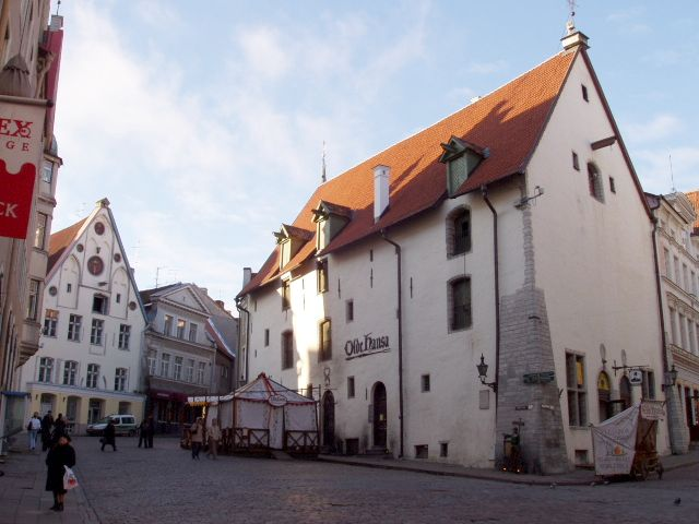 Medieval restaurant in Old Town of Tallinn