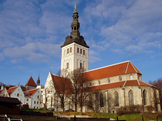 St. Nicholas' Church in Old Town of Tallinn