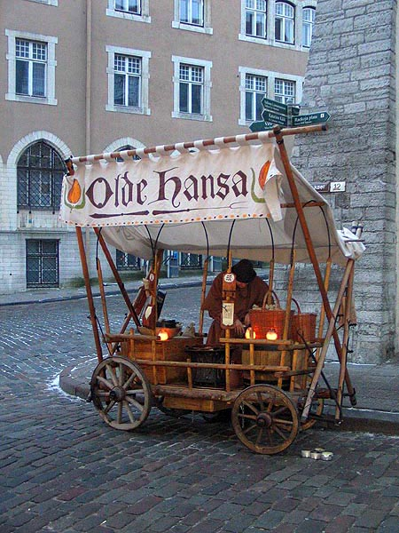 Carriage of Olde Hansa in Tallinn